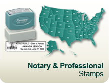Notary & Professional Stamps